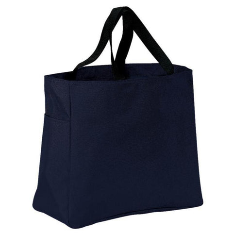 Polyester Tote Bags with Side Pocket Clearance