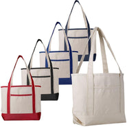 Medium Size Canvas Tote Bags - Canvas Beach Bags Clearance
