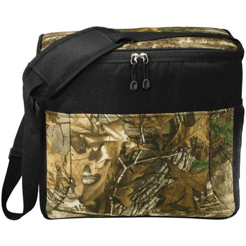 Port Authority® Camouflage 24-Can Cube Cooler. BG514C Cooler Lunch Bags
