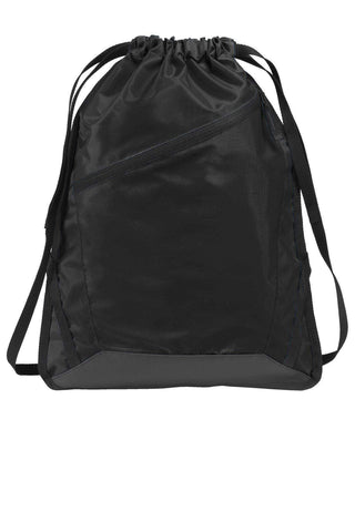 Port Authority® Zip-It Cinch Pack. BG616 Drawstring Bags