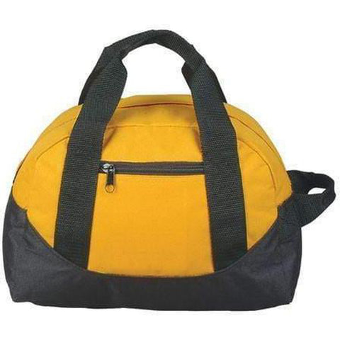 "12"" Mini Size Two Tone Duffle Bag - DB1121 - 12 Pack Duffle Bagz"