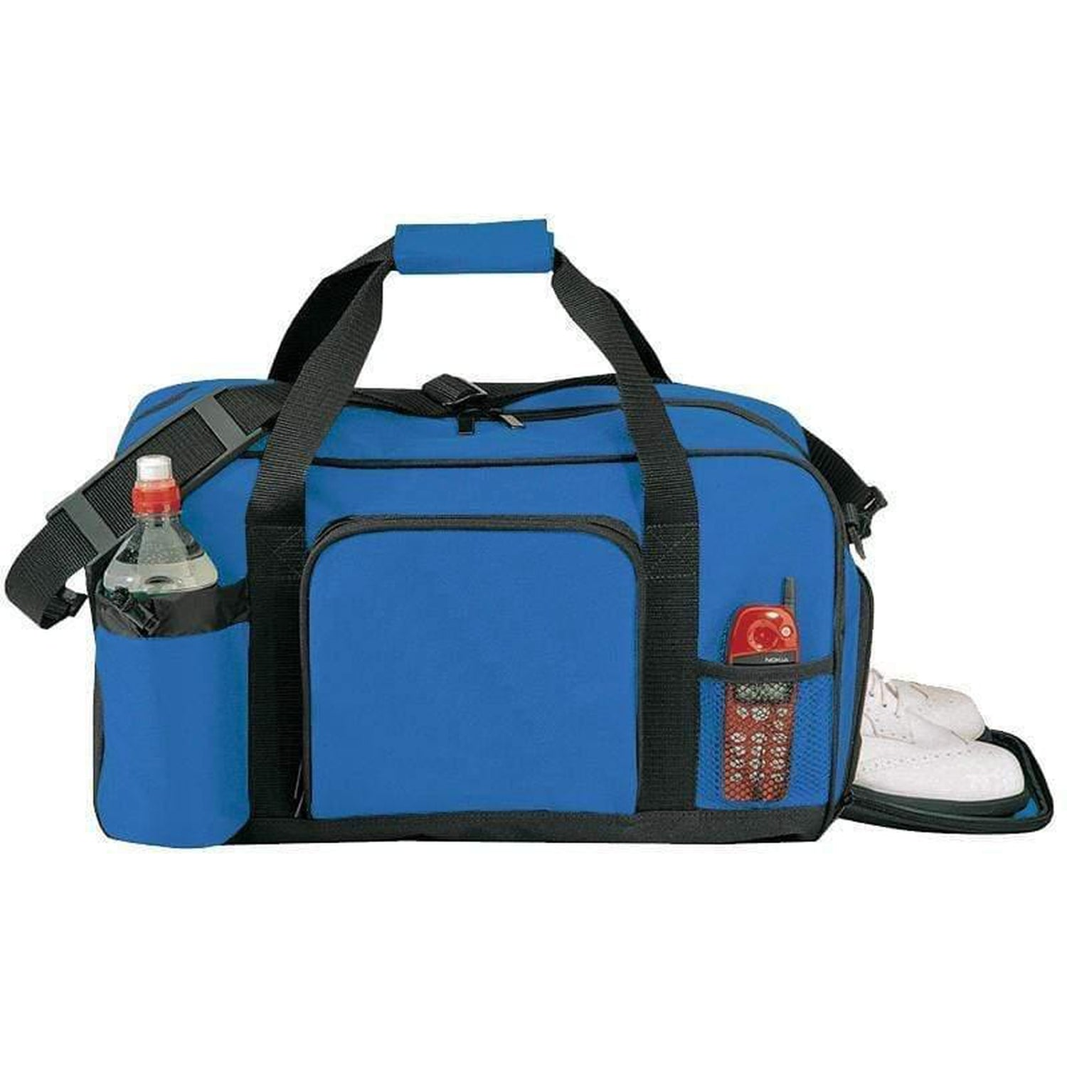 Polyester Zippered DUFFLE BAGs - 6046