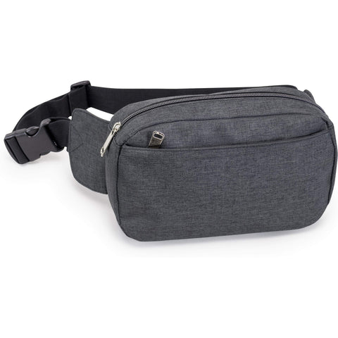3 Zipper Fanny Pack with Adjustable Fanny Pack Strap | HP1102 Fanny Pack