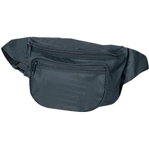 3 Zipper Fanny Pack | Wholesale Fanny Packs | NFNP Fanny Pack