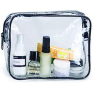 Clear Cosmetic Bag, Travel Airport Vinyl Makeup Bags - HP1110 Make Up / Travel Kit