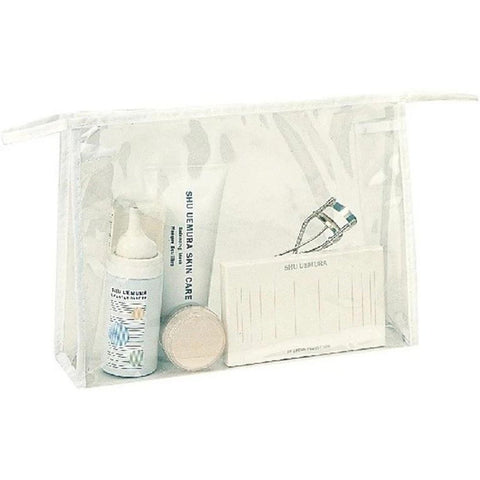Zippered Clear Cosmetic Tote Bag, Vinyl Travel Makeup Bags - CS1013 Make Up / Travel Kit