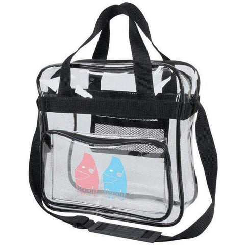 Clear Messenger Bag, Crossbody Stadium Vinyl Bags - 5079 Tote Bags