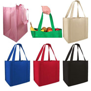 100gm Non-Woven Reusable Stand Up Shopping Tote Bags - GN45 Tote Bags