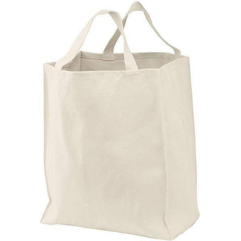 100% Cotton Twill Grocery Tote - B100 Tote Bags