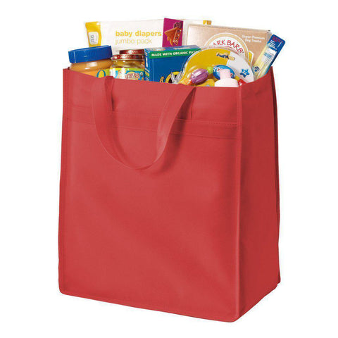 Standard Polypropylene Stand Up Grocery Tote Bag - B159 Tote Bags