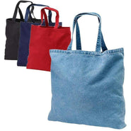 Heavy Duty Cotton Washed Denim Event Tote Bag - TF270 Tote Bags