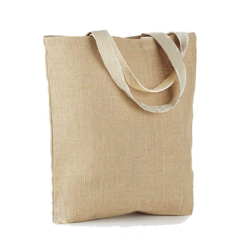 Basic Wholesale Burlap Bag - Jute Tote Bag - J300 Tote Bags