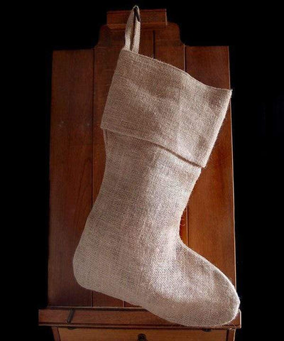 Burlap Jute Christmas Stockings Bulk - 12 Pack - S152 Tote Bags