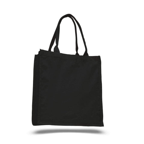 100% Cotton Swanky Shopper Tote Bags Wholesale - Set of 12 Tote Bags