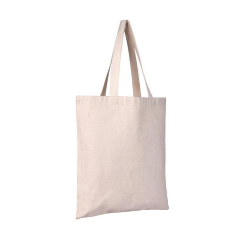 Heavy Duty Promotional Canvas Tote Bags Bulk - Set of 12 Tote Bags