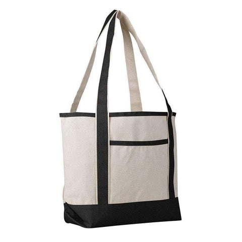 Canvas Boat Tote Medium - Set of 12 Tote Bags