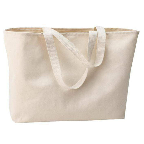 Heavy Duty Cotton Twill Fabric Tote Bag - Set of 12 Tote Bags