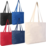 Large Canvas Messenger Tote Bag | MB220 Tote Bags