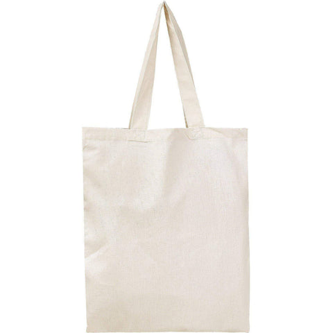 Set of 100 - Cotton Tote Bags in Bulk Wholesale Blank Bags - BTB100 Tote Bags
