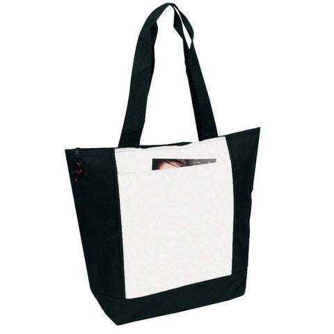 Polyester Deluxe Zipper Tote Bag - BS185 Tote Bags