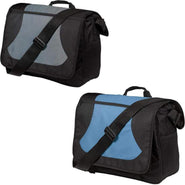 Port Authority® Midcity Messenger.  BG78 Tote Bags