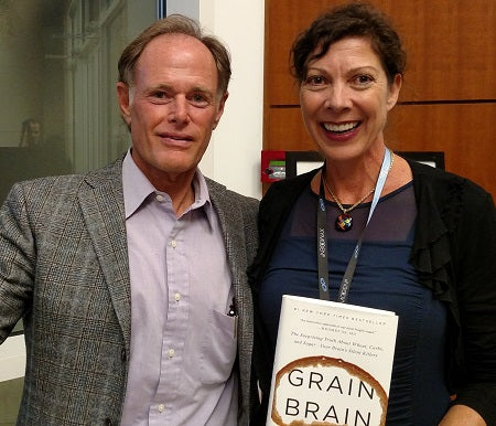 Dr. Perlmutter with Diana