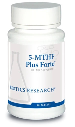 5-MTHF Plus Forte by Biotics Research - Gluten Free