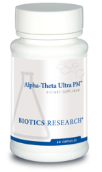 Alpha-Theta Ultra PM by Biotics Research - Gluten Free