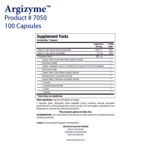 Argizyme by Biotics Research - Gluten Free