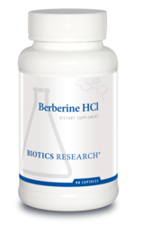 Berberine HCL by Biotics Research - Gluten Free