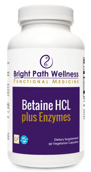 Betaine HCL plus Enzymes - L-Glutamic Acid, Pepsin, Proteolytic Enzymes