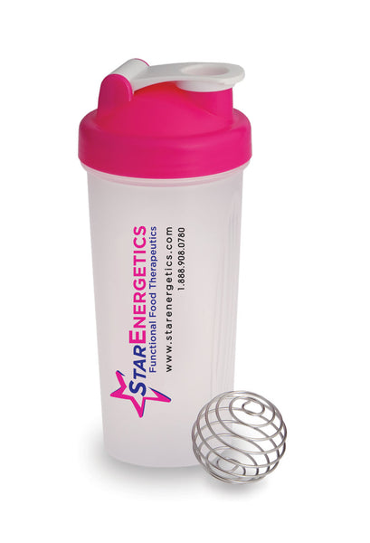 Blender Bottle - Star Energetics Pink