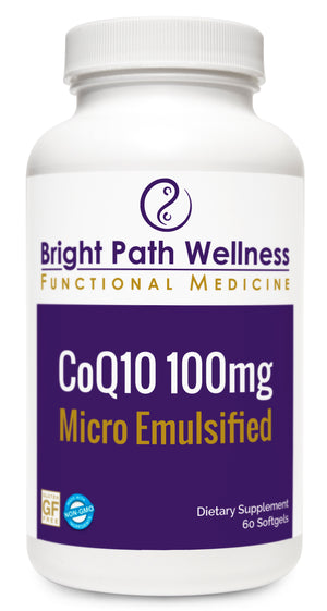 CoQ10 - 100mg - Micro Emulsified