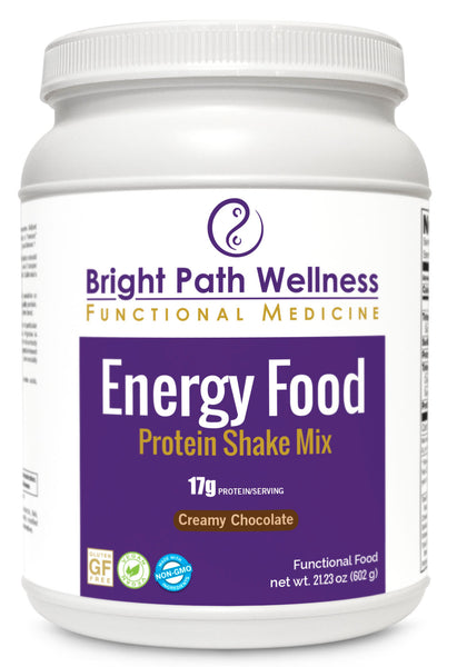 Energy Food Protein Shake - Vegan, Gluten Free, Non GMO - Chocolate
