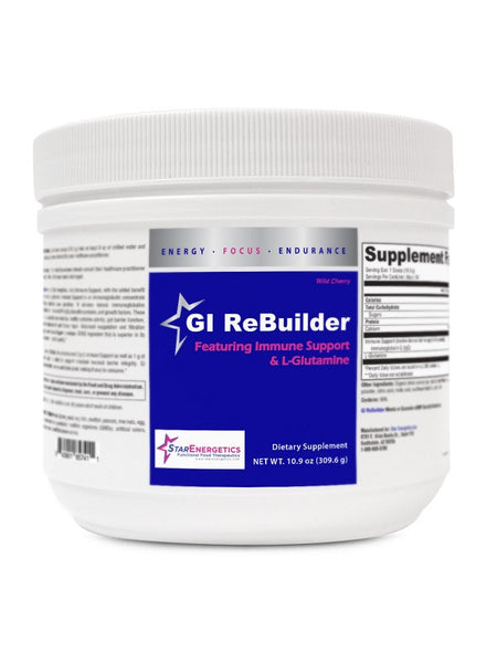 GI ReBuilder featuring Immune Support and L-Glutamine, Wild Cherry, 30 servings