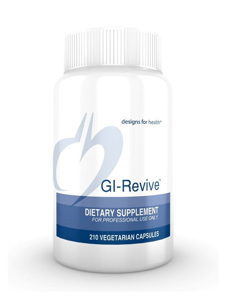 GI-Revive by Designs for Health - 210 Capsules - Non GMO, Gluten Free