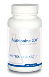Methionine-200 by Biotics Research - Gluten Free