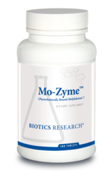 Mo-Zyme - Molybdenum by Biotics Research - Gluten Free