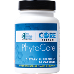 PhytoCore by Ortho Molecular - Liver Detox Support - Gluten Free