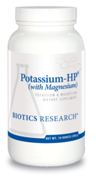 Potassium-HP with Magnesium by Biotics Research - Gluten Free