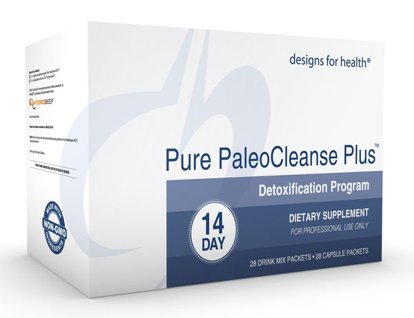 Pure PaleoCleanse Plus™ Detox Program by Designs for Health - Non GMO