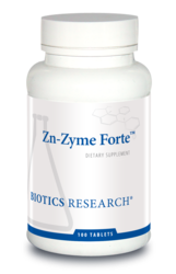 Zn-Zyme Forte by Biotics Research - Gluten Free