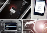 Mercedes C-Class Wireless Bluetooth Car Kit Adapter for in car iPod Integration add streaming Bluetooth for car