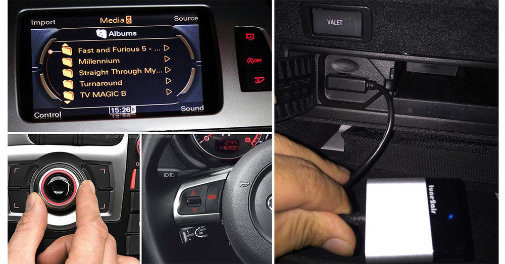 Audi Bluetooth Streaming Music - Plug and Play A2DP