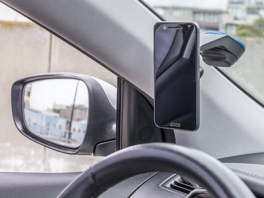 Quad Lock Car Mount for Smartphones on Windscreen