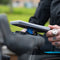 Easily slip on the Poncho on your Pixel Smartphone on Your Bike