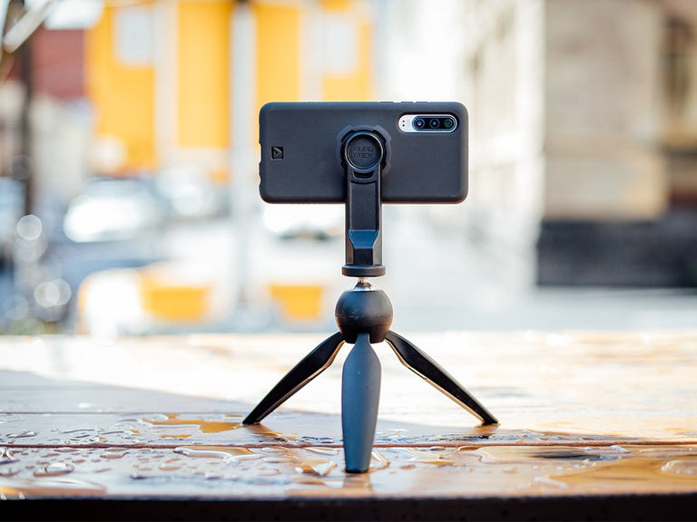 quad lock huawei p30 tripod capture kit