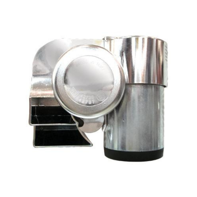 12 Volt Compact Euroblast Air Horn Chrome-Motorcycles Too