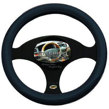 Steering Wheel Cover Black/Black