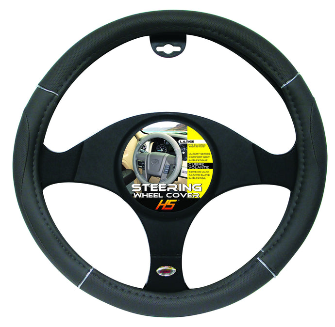 Steering Wheel Cover Grey / Chrome / Grey 15
